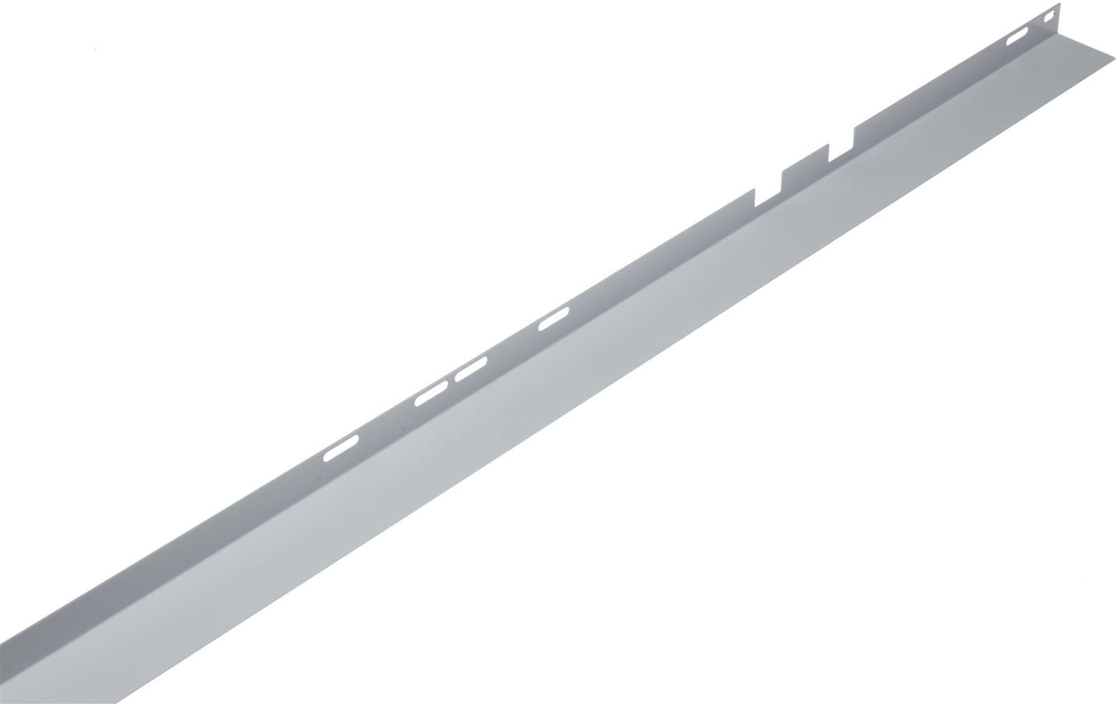 Sidolist S43/33/23 185 cm H/V. Vit
