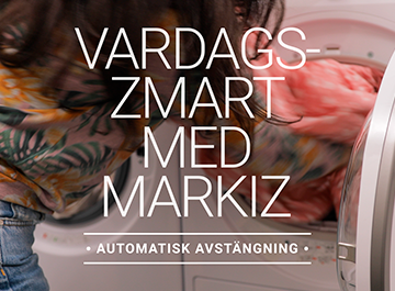 Vardagssmart med Markiz -Automatisk avstängning