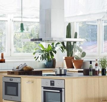 Köksfläkt lägenhet självdrag